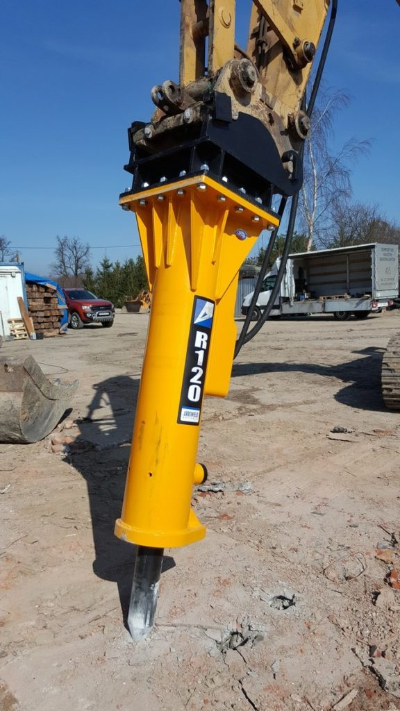 Niewiarygodnie Młot hydrauliczny do koparki - ADS Technic UT68